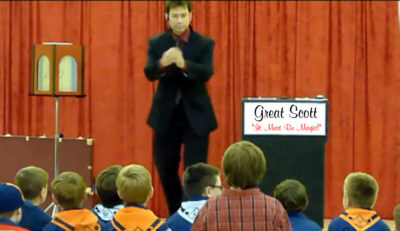 Magic Cub Scout show